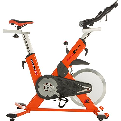 Fitness Reality X-Class 710 Indoor Training Cycle Exercise Bike with Hybrid Pedals by Fitness Reality