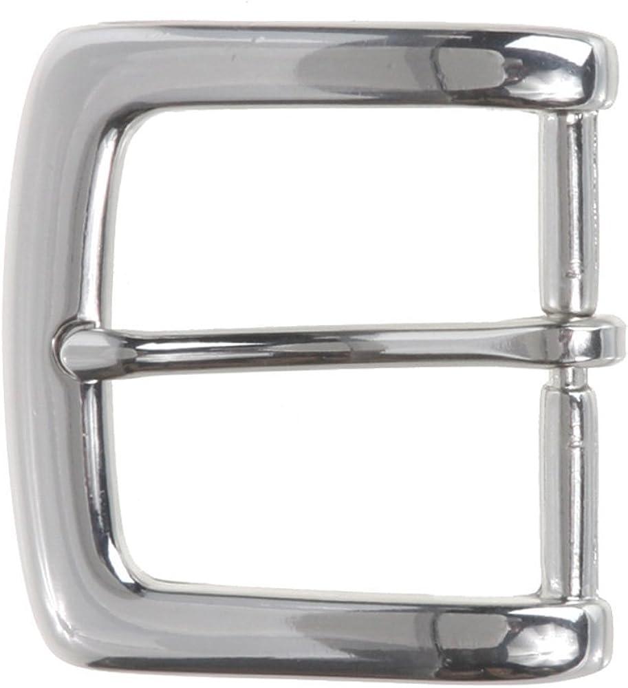 MONIQUE Men Zinc Alloy Nickel Free Single Prong Square Shape 1.5 Belt Buckle