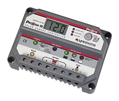 MorningStar ProStar PS-15M Solar Panel Battery Charge Controller w/ Meter 12/24V by Morningstar