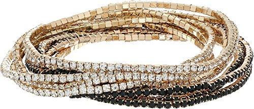 Gold Bead Stretch Bracelet - GUESS