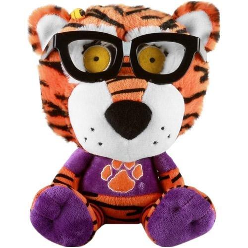 Fabrique Innovations NCAA Clemson Tigers Study Buddy Plush Toy, Medium, Orange -