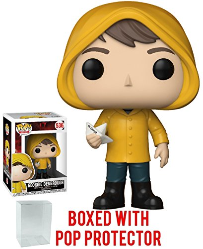 Top Funko Pop! Movies: Stephen King's It - Georgie Denbrough with Boat Vinyl Figure (Bundled with Pop Box Protector Case) for sale
