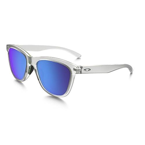 Oakley Sonnenbrille Moonlighter, Gafas de Sol para Mujer, Frosted, 53