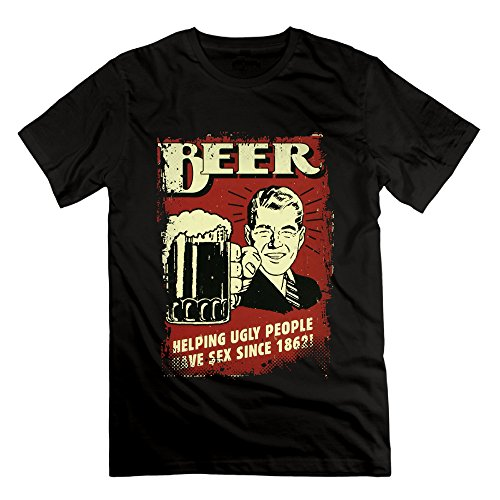 Classic-adults Beer Since 1862 Tin Sign Tees Shirt. ()