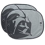 Plasticolor 003746R01 Star Wars Darth Vader 2-Piece Side Window Sunshade