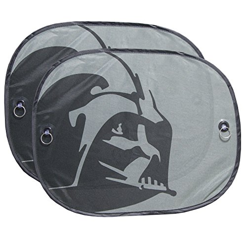 Plasticolor 003746R01 Star Wars Darth Vader 2-Piece Side Window Sunshade (Auto Shade Star Wars compare prices)