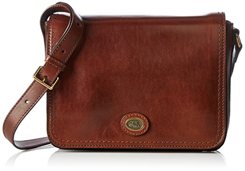 The Bridge - LADIES HANDBAG, Borse a Tracolla Donna Marrone (Braun (14 14))