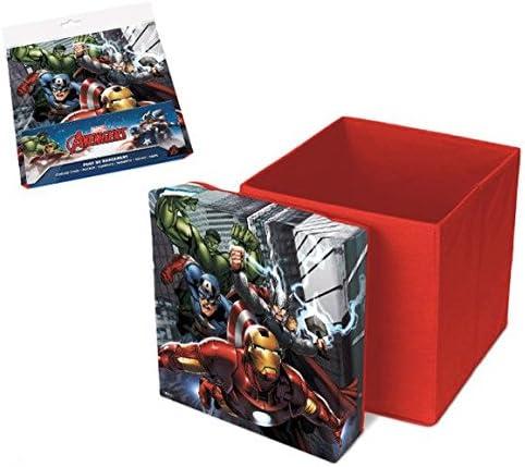 Los Vengadores (Avengers) Caja Taburete Plegable de Almacenamiento (Suncity AVD402214): Amazon.es: Juguetes y juegos