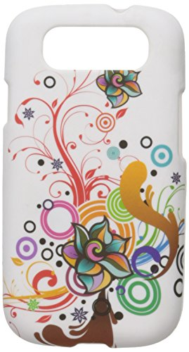 - CRSAMI747WTATFL Unique Durable Rubberized Crystal Case for Samsung Galaxy S3 - Retail Packaging - White Autumn Flower