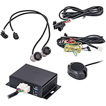 Accele BSS200 Blind Spot Sensor Kit w/LED & Audible Warning