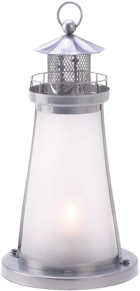 Amazon Com Tom Co 10 Wholesale Lookout Lighthouse Candle Lamp Wedding Centerpieces Home Kitchen