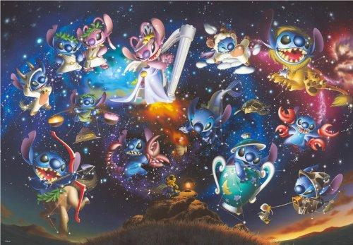 Story of 500 piece starry sky D-500-408 [jigsaw shiny] (japan import)