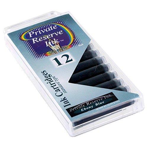 Private Reserve Ebony Blue Standard Cartridge