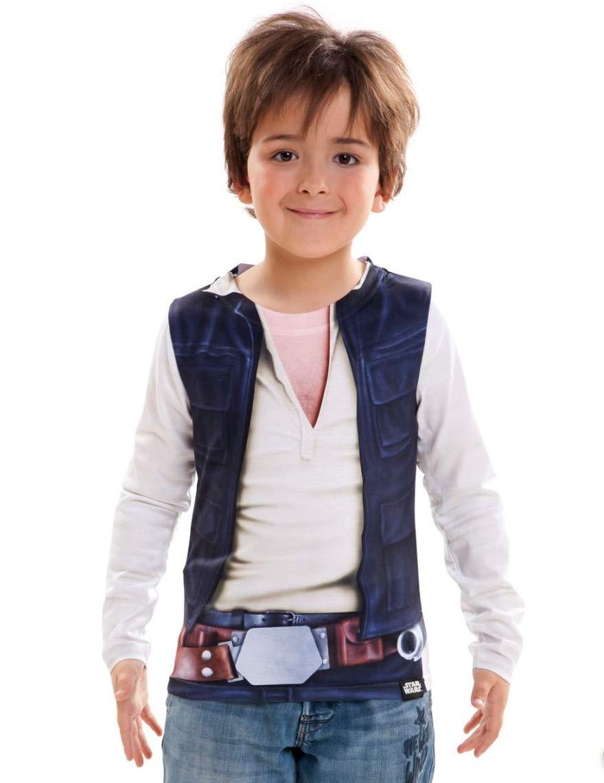 VIVING - Camiseta Star Wars han Solo 8/10 años: Amazon.es ...
