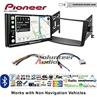 Volunteer Audio Pioneer AVIC-W8400NEX Double Din Radio Install Kit with Navigation, Apple CarPlay and Android Auto Fits 2010-2014 Subaru Legacy, Outback