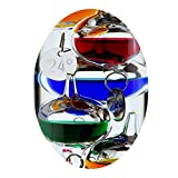 CafePress - Galileo Thermometer - Oval Holiday Christmas Ornament