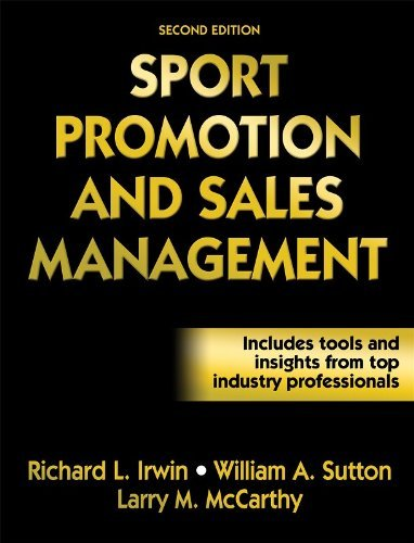 By Richard Irwin - Sport Promotion and Sales Management (2Rev Ed) (1/31/08) pdf