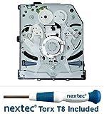 Sony PS4 Bluray Drive - BDP-020 Circuit Board - (KES-490A/ KES-490AAA/ KEM-490A/ KEM-490AAA) + Nextec® Torx T8 Security Screwdriver