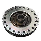 Qiilu Crankshaft Pulley,Car Crankshaft Pulley Automobile Replacement Parts Fit for LR025252
