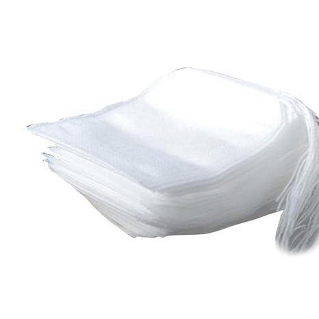 Majome 100 unids Bolsas de Té Desechables 5.5 x 7 cm de ...