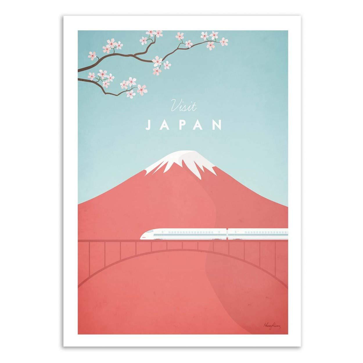 P/óster de Visit Japan Henry Rivers