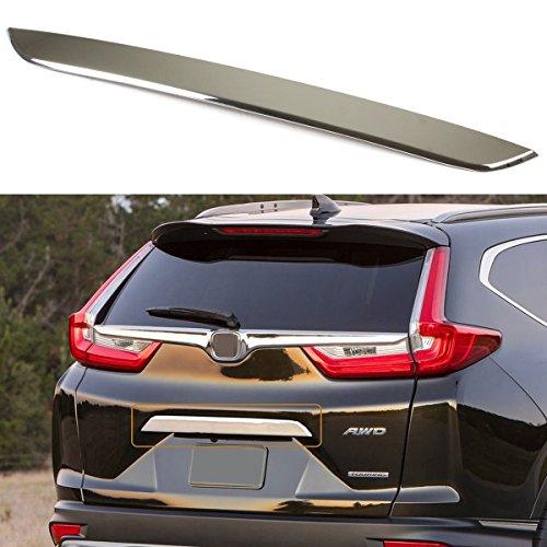 Chrome Tailgate Bezel (FOR 2017-2018 HONDA CRV CR-V POLISHED CHROME STAINLESS STEEL TRUNK TAILGATE LID BEZEL TRIM COVER)