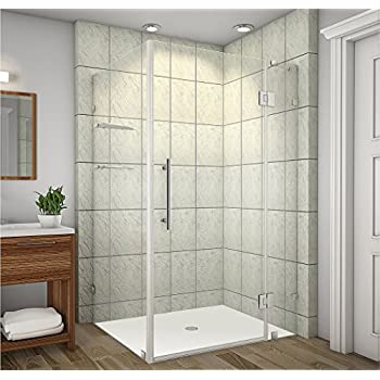 Vigo Monteray 32 X 48 In Frameless Shower Enclosure With 375 In