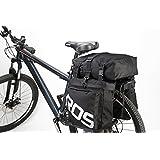 Best Fit For U Roswheel Bicycle Cycling Bike 3 in 1 Multifunction Pannier Bag Rear Rack Seat Trunk Carrier Pack Shoulder Bag
