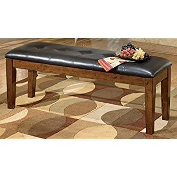 Beau Ashley Furniture D594 00 Dining Bench, Large, Brown