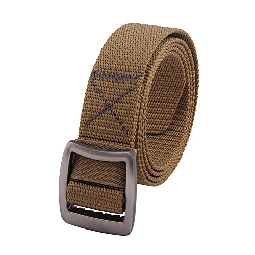 MIJIU Mens Womens Tactical Duty Belt Nylon Webbing - Belt Genuine Cotton