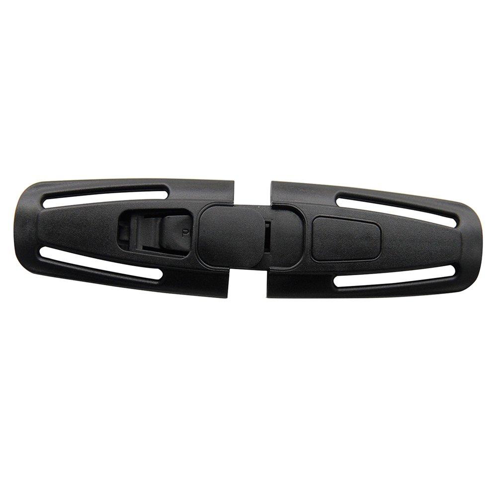 ZhongYeYuanDianZiKeJi Hebilla de Seguridad Cintur/ón Coche de Asiento de Seguridad para Beb/é Ni/ño del arn/és pecho Clip nudos