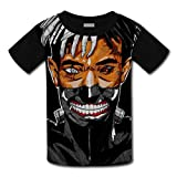 Fashion Kids Tshirt Hot Tops 3D Cartoon XXXTentacion Short T Sleeve Shirt Cool Graphics Tees