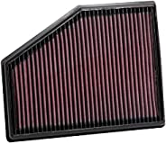K&N Engine Air Filter: High Performance, Washable, Replacement Filter: Compatible with 2015-2020 BMW (740i