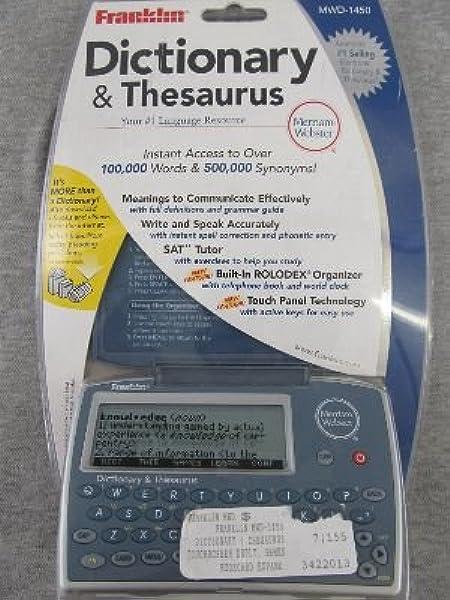 Organizer Thesaurus