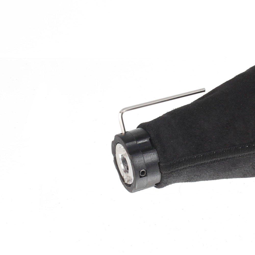 Naht rot Original ICT Schaltknauf Schalthebel Schaltsack//Schaltmanschette in schwarz 100/% Echtleder 5 gang Komplettset Ersatzteil Made in Germany