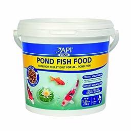 API Pond Fish Food, 25-Ounce