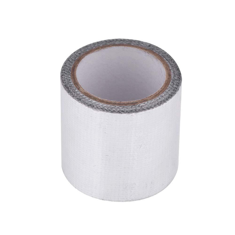 Aluminum Tape, Heat Proof High Temp Heat-Resistant Adhesive Aluminium Fiber Tape Rolls for Repair Remote Control Vehicle