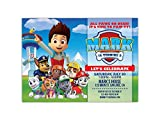 Paw Patrol Birthday Party Invitations ANY AGE Custom