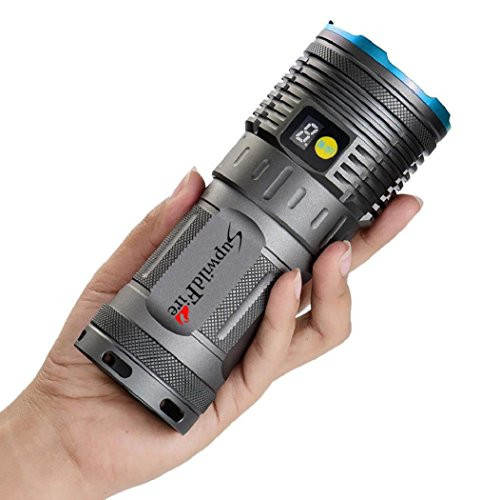 30000LM T6 LED Flashlight Light Torch Pocket Mini AA Rechargeable Lamp