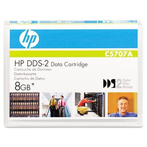 "HEWLETT PACKARD 1/8"" DDS-2 Cartridge, 120m, 4GB Native/8GB Compressed Capacity (C5707A)"