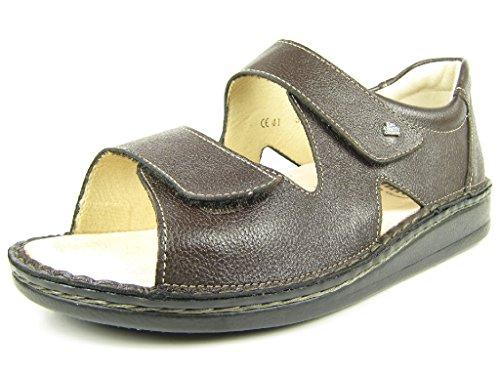 Finn Comfort 81525500024 - Sandalias de vestir de Piel Lisa para hombre marrón