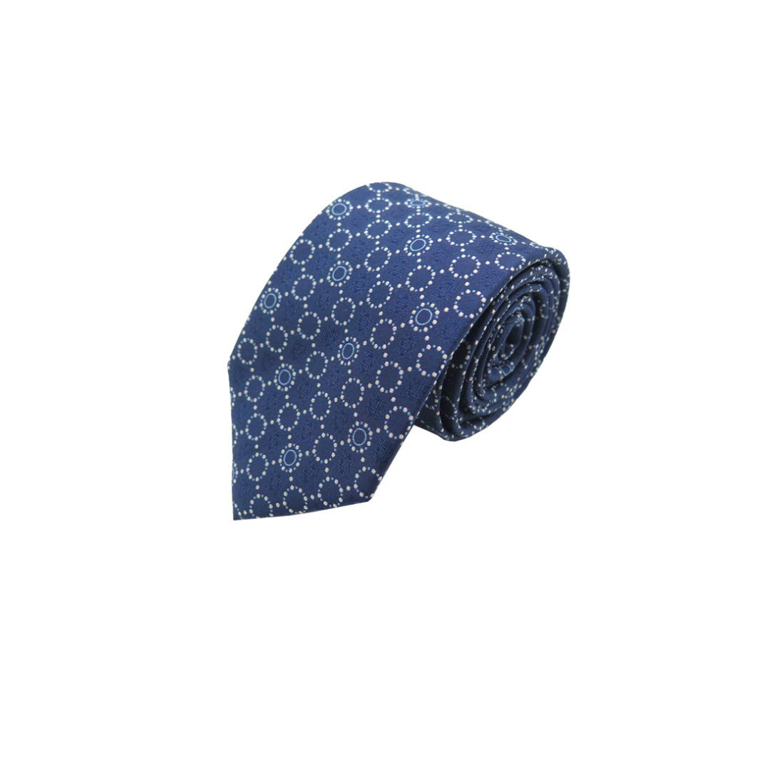 YYHSND Mens Tie Jacquard 8cm Business Suit Dress Accessories Polyester Silk Tie Mens tie