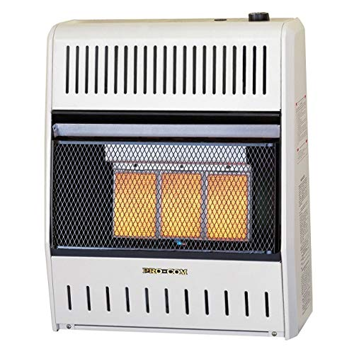 dual fuel ventless infrared heater