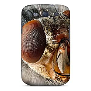 High Quality UIvKaGN607WHBkr Housefly Tpu Case For Galaxy S3