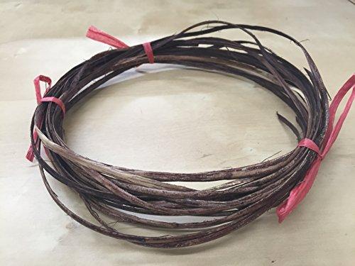 Rattan Flat Furniture Chair Basket Caning.natural Repair Binder Cane. Dark Brown (Rattan Repair Supplies)