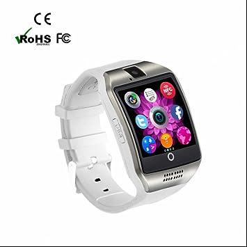 Reloj Inteligente Smartwatch con Cámara,Pódometro,Monitor de Calorías,Monitor de Actividad y Bluetooth,Notificación de Mensaje,Pulseras Actividad,ranura ...
