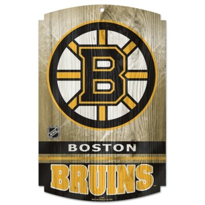 WinCraft NHL Boston Bruins 73169091 Wood Sign, 11