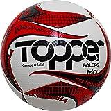 Bola De Futebol Campo Topper Boleiro Tecnofusion - Vermelho