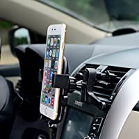Universal Car Air Vent Phone Mount Holder Joey Qing Car Phone Holder360° Degree Rotation Cradle for iPhone 7/7 Plus,6s, Samsung Galaxy S8 S7 S6/LG/Sony and more