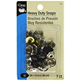 Dritz Snaps Heavy Duty-Navy-Size 24-5/8-Inch-7-Count